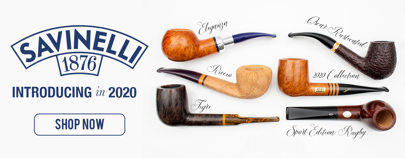 Introducing Savinelli 2020 Pipes