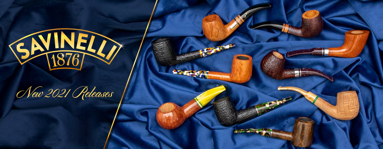 New Savinelli Pipes For 2021 at Laudisi Distribution Group