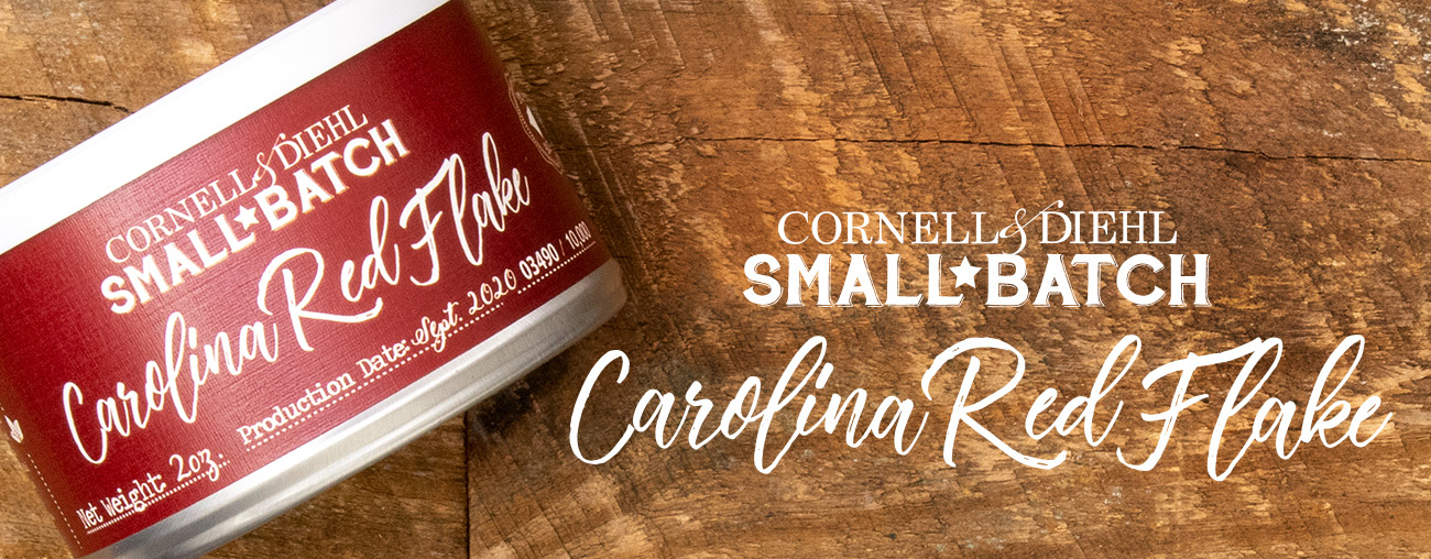 Cornell & Diehl's Small Batch: Carolina Red Flake