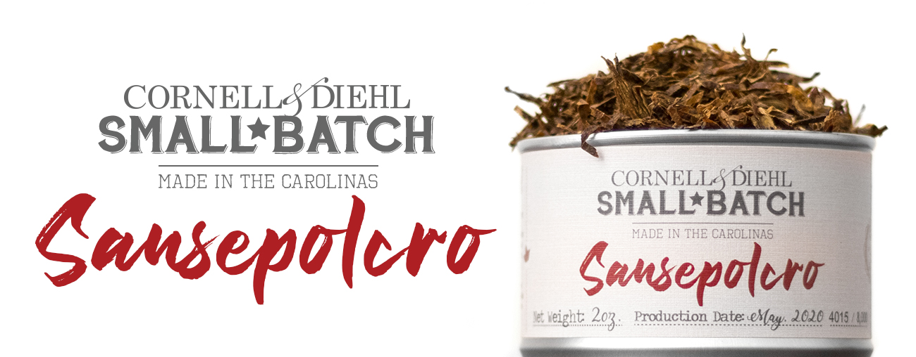 C&D's Small Batch: Sansepolcro Pipe Tobacco